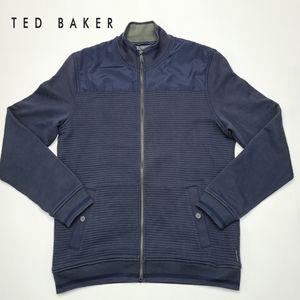 Ted Baker Sardin Jacket Quilted Full Zip Mockneck